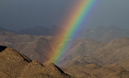 slutregnbåge s Arkivbild