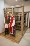 SLUTSK, BELARUS - 20 mai 2017 : Musée de l'histoire des ceintures de Slutsk Image libre de droits