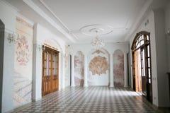 SLUTSK, BELARUS - 20 mai 2017 : Musée de l'histoire des ceintures de Slutsk Photo libre de droits