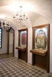 SLUTSK, BIELORUSSIA - 20 maggio 2017: Museo della storia delle cinghie di Slutsk Immagini Stock Libere da Diritti