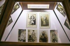 SLUTSK, BIELORUSSIA - 20 maggio 2017: Museo della storia delle cinghie di Slutsk Fotografia Stock Libera da Diritti