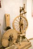 SLUTSK VITRYSSLAND - Maj 20, 2017: Museum av historien av de Slutsk bältena Arkivfoto