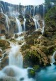 Slutskottvattenfall royaltyfri fotografi