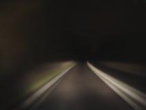 slutväg Arkivbild