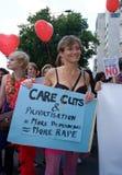 slutwalk 2011 Стоковые Изображения
