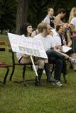 SlutWalk Milwaukee Immagini Stock