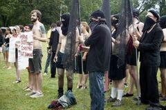 SlutWalk Milwaukee Stock Photos