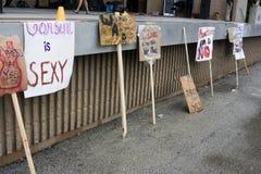 SlutWalk Milwaukee Stock Photography