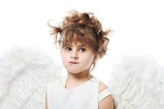 Sluwe engel Royalty-vrije Stock Foto