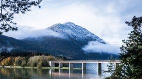 Slvenstein lake Royalty Free Stock Photography