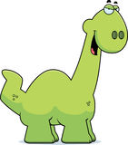 Sly Cartoon Apatosaurus Stock Photo