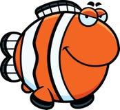 Sly Cartoon Clownfish Stock Images