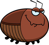 Sly Cartoon Cockroach Royalty Free Stock Photo