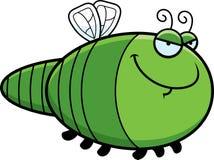 Sly Cartoon Dragonfly Stock Photography
