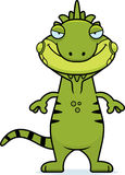 Sly Cartoon Iguana Stock Photos