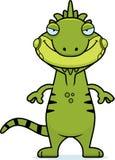 Sly Cartoon Iguana Stock Photos