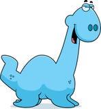 Sly Cartoon Plesiosaur Stock Image