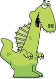 Sly Cartoon Spinosaurus Royalty Free Stock Photos