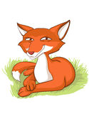 Sly fox Stock Photo