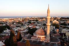 Slyline der Suleiman Moschee Lizenzfreie Stockbilder