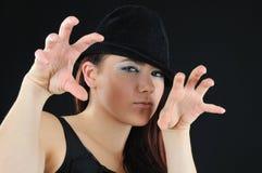 slyness девушки Стоковая Фотография RF