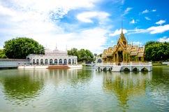 Smäll PA-i Aisawan Thipya-konst på den kungliga sommarslotten Arkivbilder