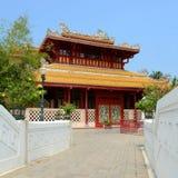 Smäll-PA-i slott i Ayudhaya Thailand. Royaltyfri Fotografi