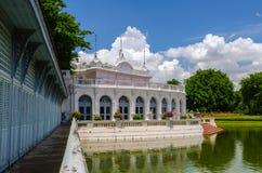 Smäll PA-i slotten, Ayuthaya, Thailand Arkivfoton