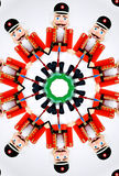 smällarekaleidoscopemutter igenom Fotografering för Bildbyråer