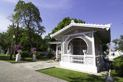 SmällPA i Royal Palace, Ayutthaya, Thailand 2 Arkivbilder
