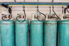 Smält oljagas eller LPG royaltyfri fotografi
