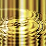 smälta krusningar för guld vektor illustrationer