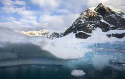 Smältande is - Antarktis Arkivfoton