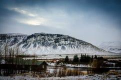 Smältande berg Fotografering för Bildbyråer