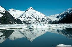 Smältande glaciärer Arkivbild