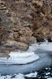 Smältande glaciärer Arkivfoton