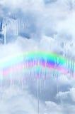 Smältande regnbåge Royaltyfria Bilder