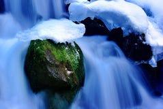 smältande snow Arkivfoto