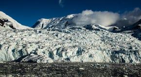 Smältningsglaciär i Antarktis arkivbild