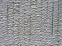 Smältt snö på staketet Royaltyfri Fotografi