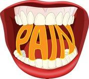 smärta Arkivbild