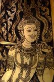 Smärta dörren i tempel royaltyfria foton