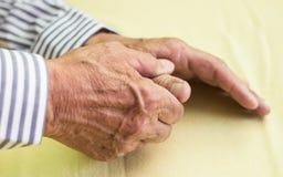 Smärta i finger Royaltyfri Fotografi
