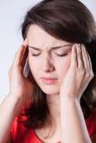 smärta kvinnan Arkivfoton