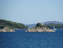 Små öar Arkivfoton