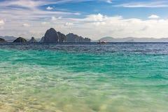 Små öar på horisonten Royaltyfri Bild