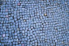 Små blåa stenar Arkivbilder