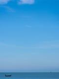 Små fartyg på havet Royaltyfri Foto