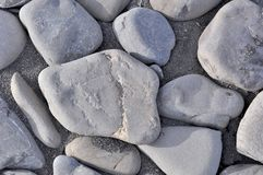 Små havsstenar, grus Royaltyfri Foto