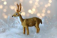 Små julhjortar Royaltyfria Bilder